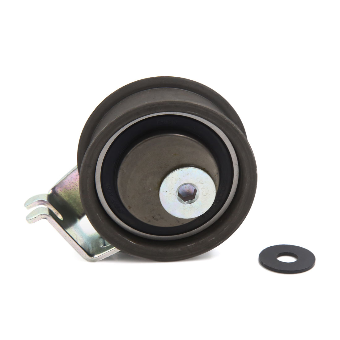 Universal Car Vehicle Engine Belt Tensioner Pulley Repair Accessory Black