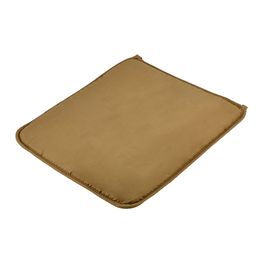 Home Office Sponge Solid Anti Slip Seat Chair Cushion Pad Cover Brown 39 x 39cm