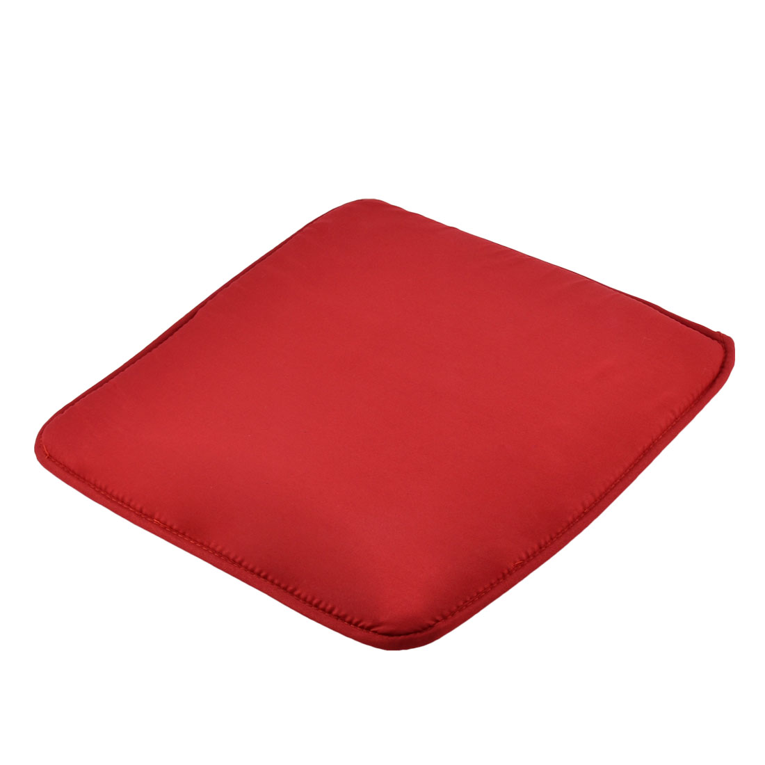 Home Office Sponge Solid Anti Slip Seat Chair Cushion Pad Cover Carmine 39 x 39cm