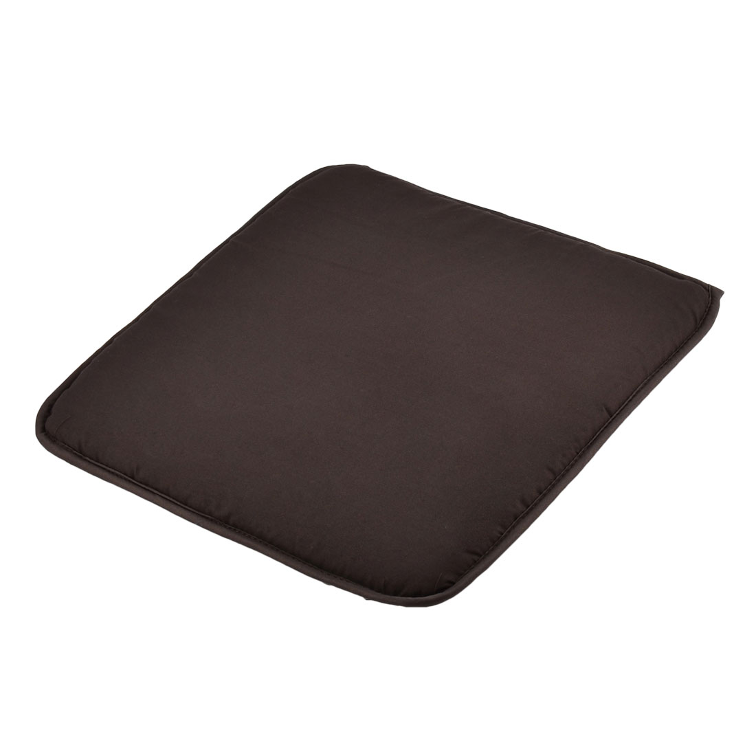 Home Office Sponge Solid Anti Slip Seat Chair Cushion Pad Cover Coffee Color 39 x 39cm
