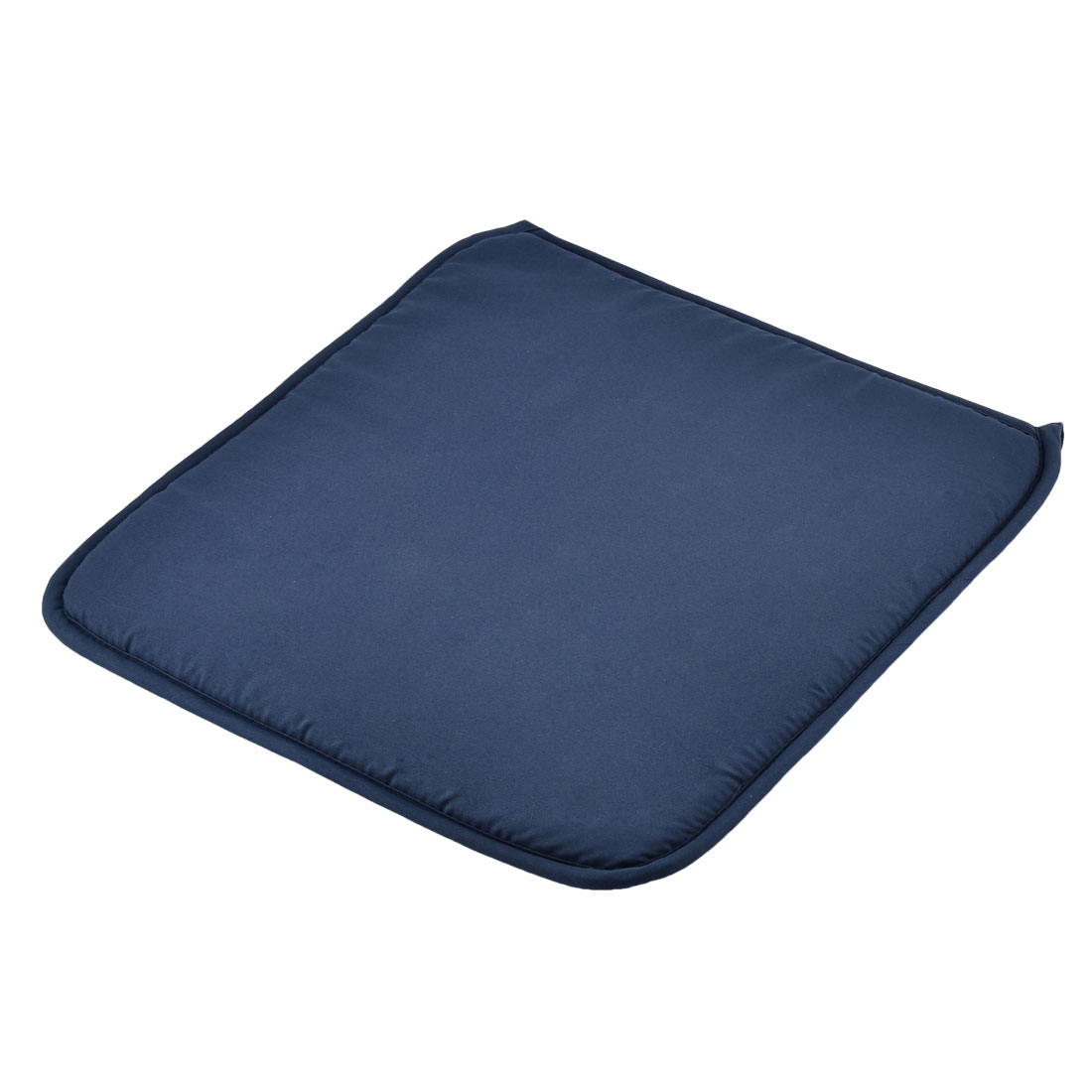 Home Office Sponge Solid Anti Slip Seat Chair Cushion Pad Cover Navy Blue 39 x 39cm