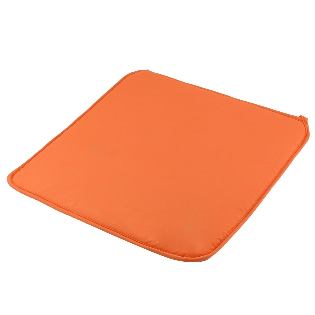 Home Office Sponge Solid Anti Slip Seat Chair Cushion Pad Cover Orange 39 x 39cm