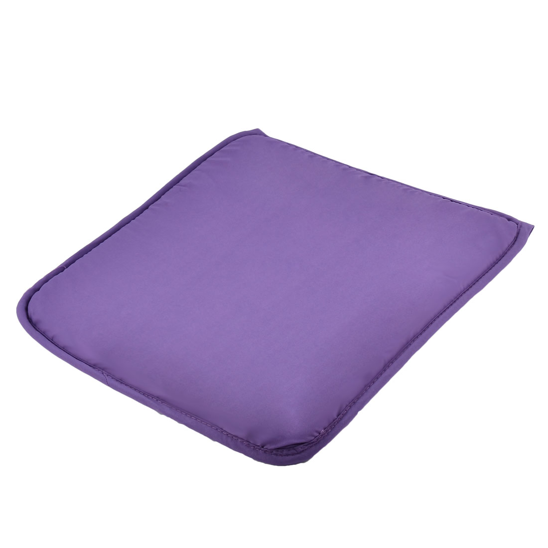 Home Office Sponge Solid Anti Slip Seat Chair Cushion Pad Cover Purple 39 x 39cm