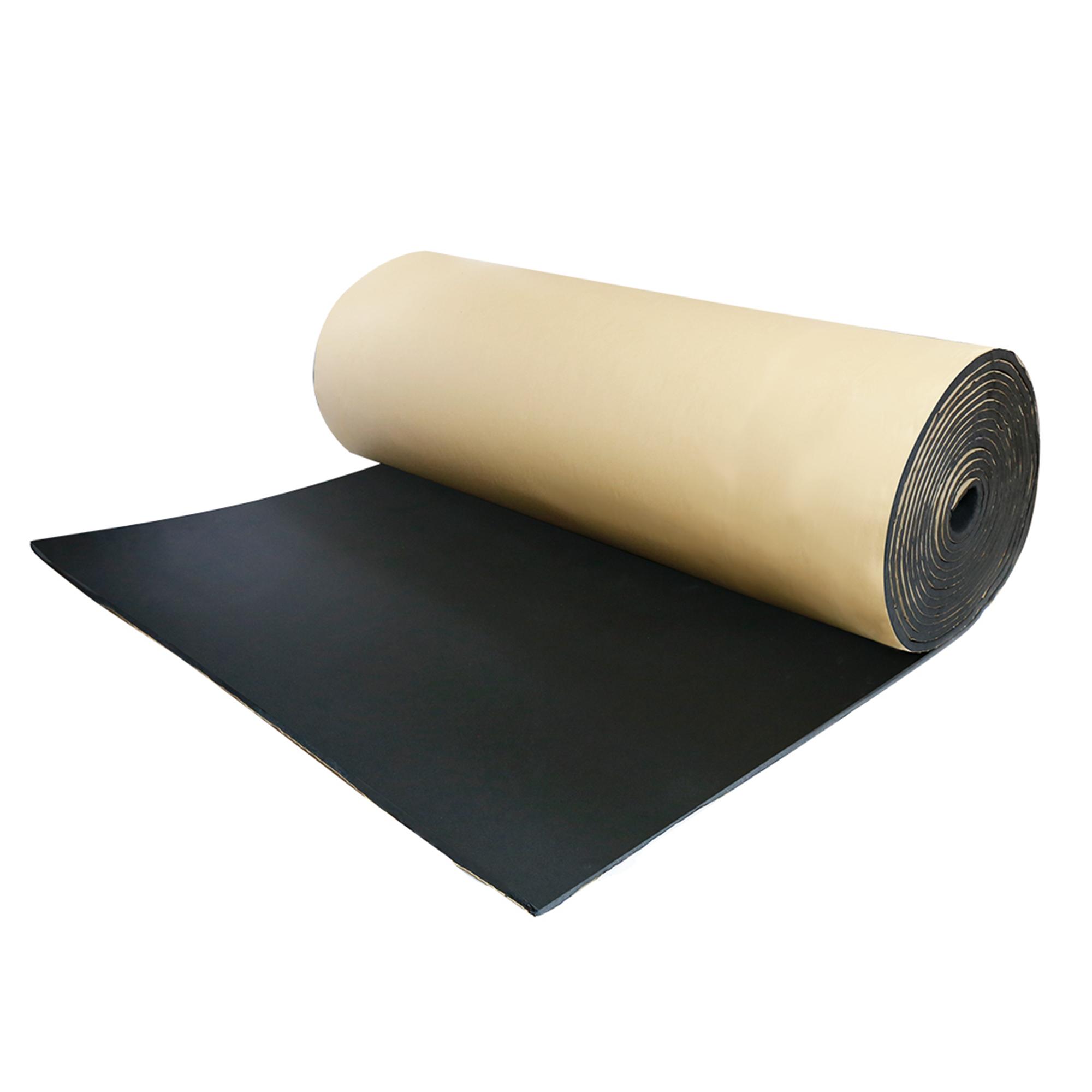 "394mil 10mm 6.46sqft Car Floor Tailgate Sound Insulation Deadener Mat 40""x24"""