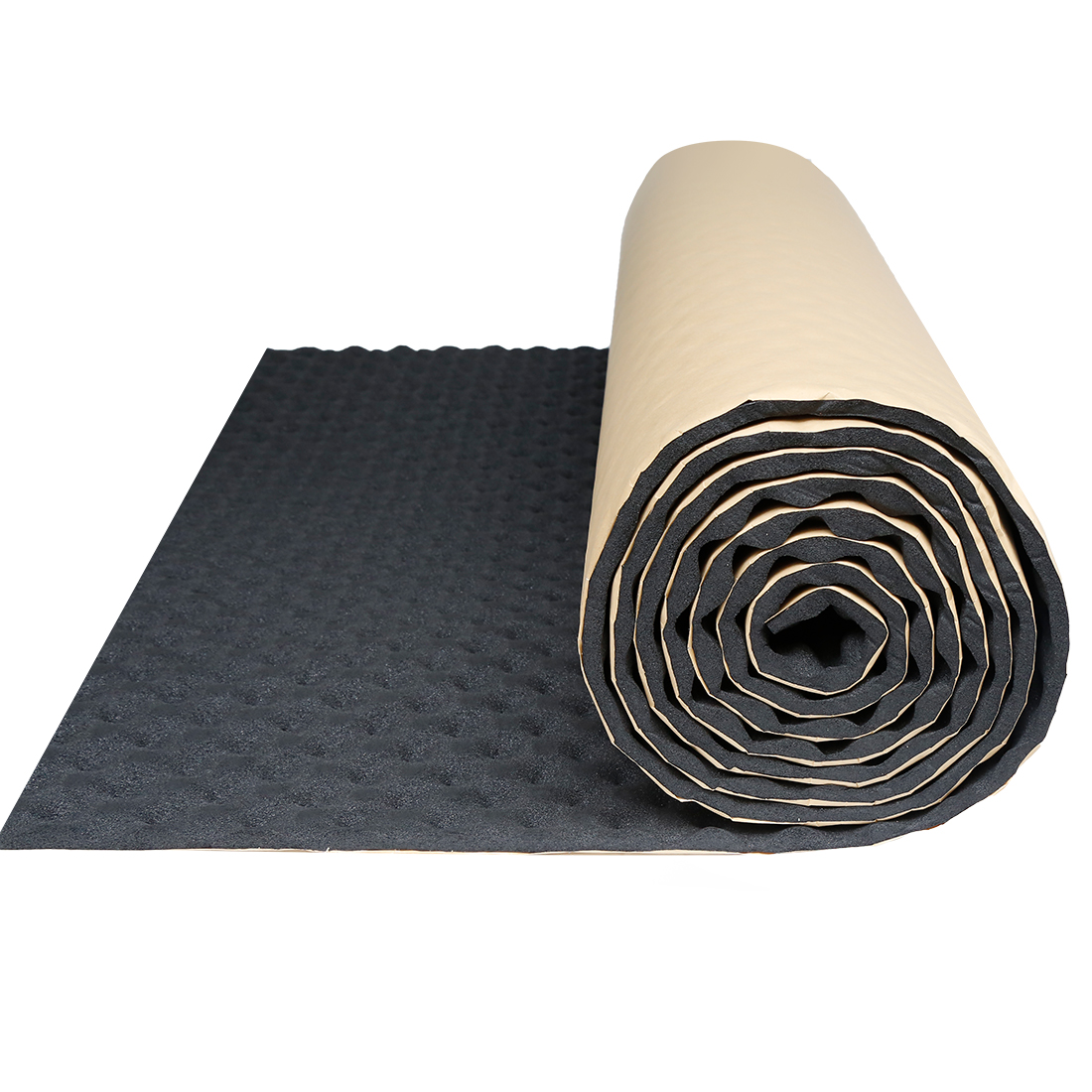 "Wave Studio Sound Acoustic Absorbing Heatproof Foam Deadener 19.7""x197"" 27sqft"