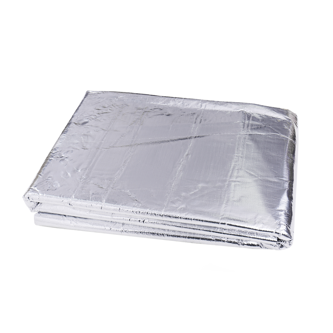 "197mil 16.36sqft Car Heatproof Sound Deadener Thicker Aluminum Foil Mat 60""x40"""