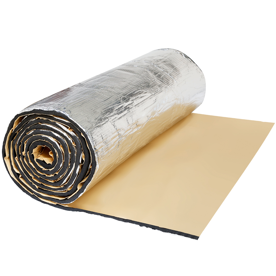 "236mil 16.36sqft Car Sound Deadener Heat Insulation Underlay Shield Mat 60""x40"""