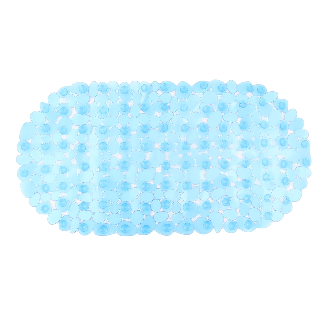Bathroom Washroom PVC Oval Shape Nonslip Anti-skid Suction Cup Non-slip Mat Pad