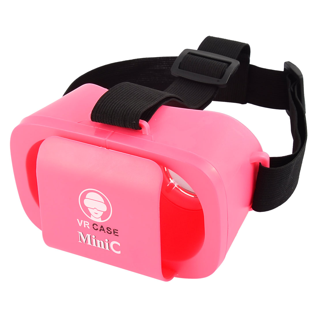 Universal Adjustable Lens T-shaped Straps Mini 3D Virtual Reality Glasses Pink for 4.7-5.5 Inch Smartphones
