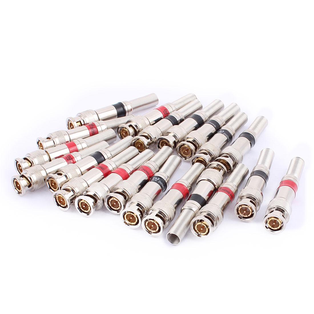 20 Pcs BNC Q9 Connector Adapters Copper Core High Temperature Resistant