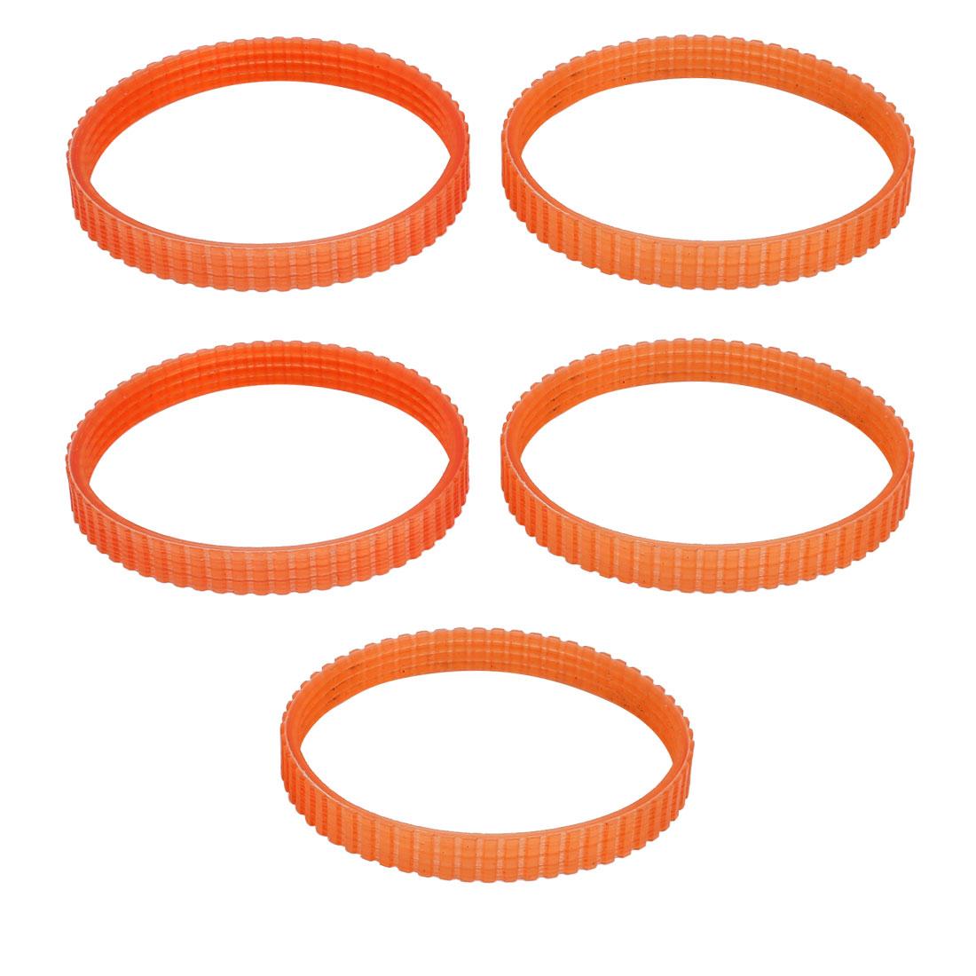 69mm Inner Dia Orange Electric Planer Cutting Machine Driving Belt