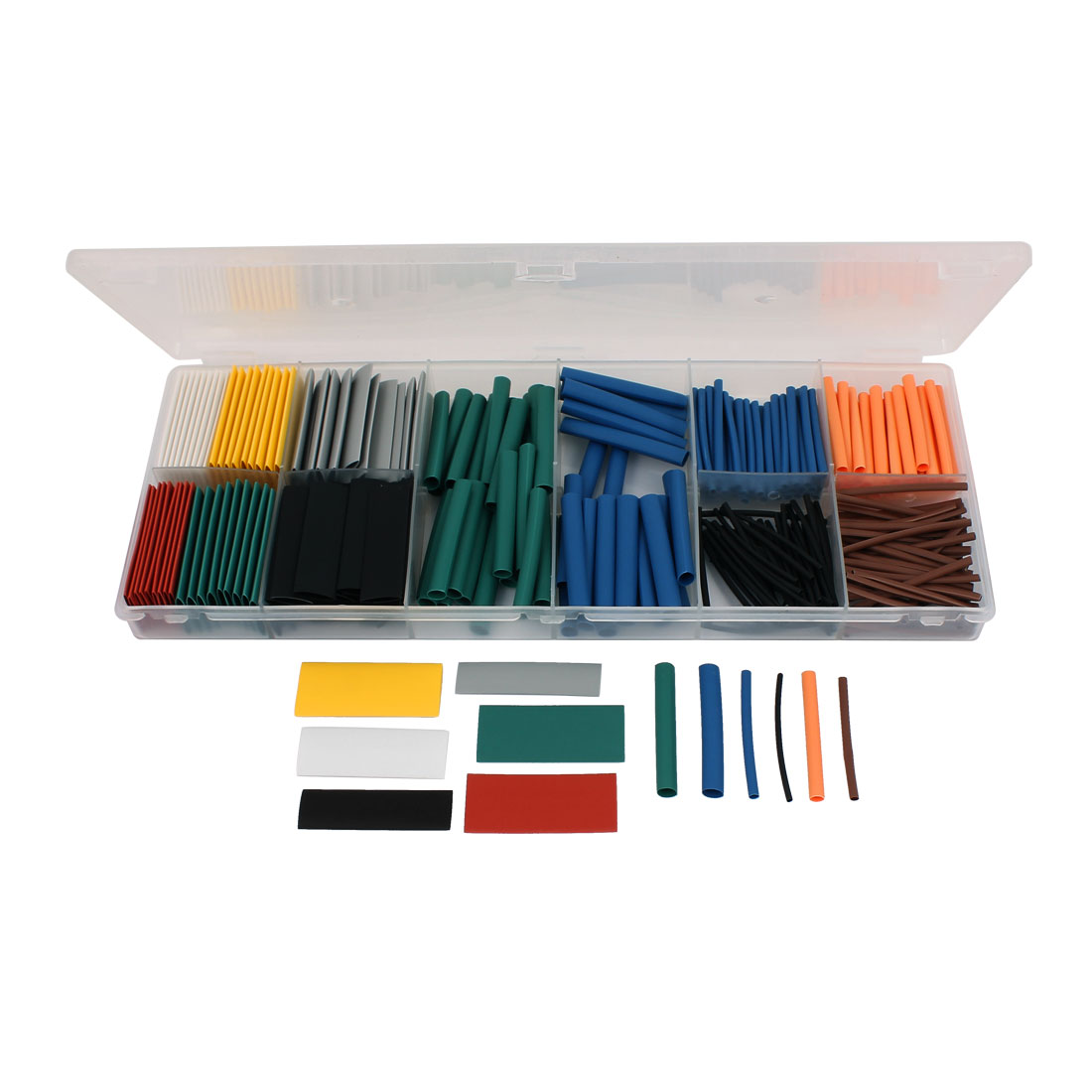 280 Pcs Heat Shrink Cable Tubing Tube Sleeving Wrap Assorted Sizes Kit B Type