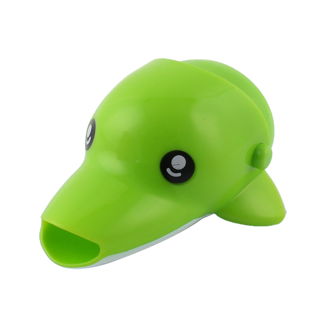 Kitchen Bathroom Silicone Dolphin Shaped Detachable Basin Tap Faucet Extender Green