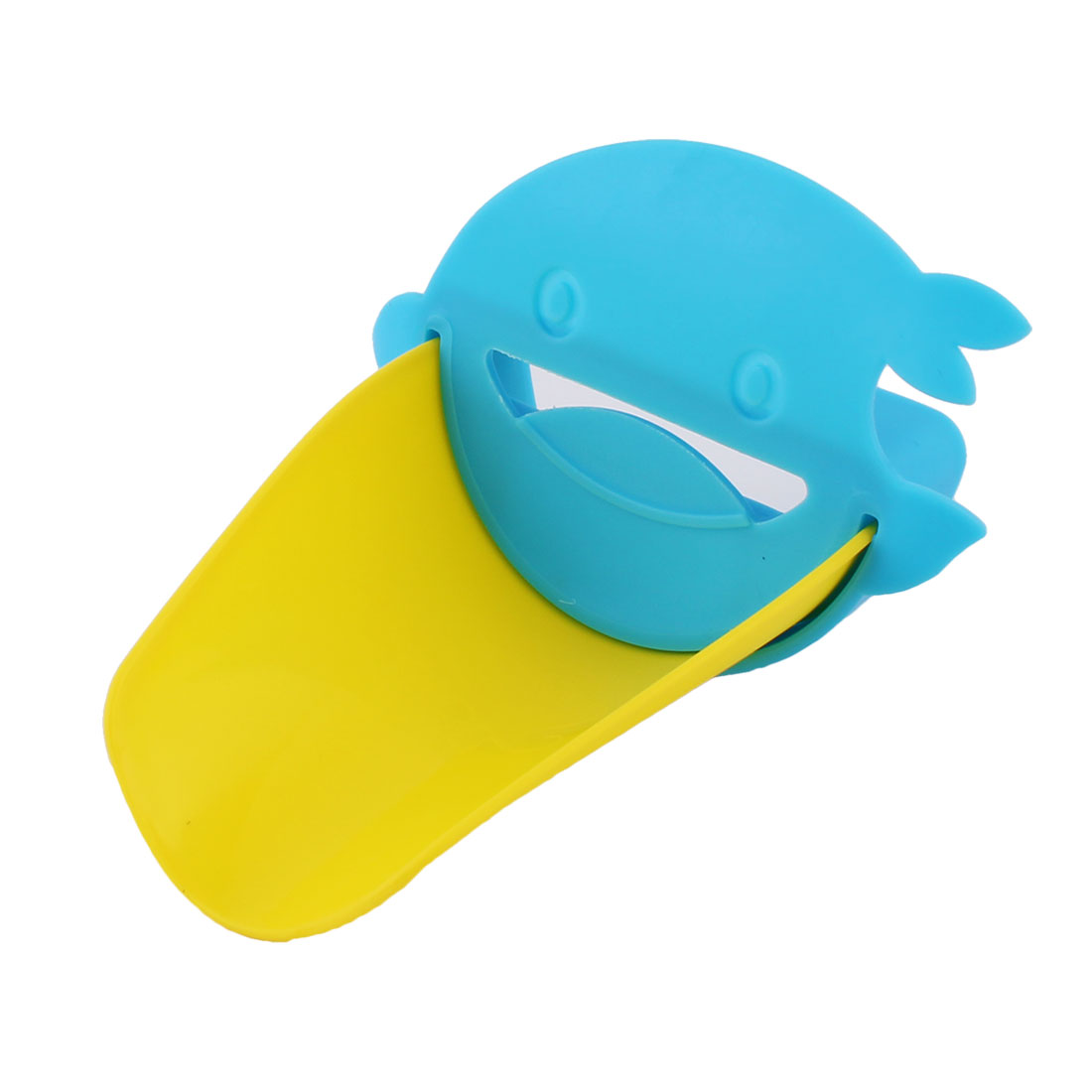 Bathroom Silicone Dolphin Shaped Detachable Hand Washing Tap Faucet Extender