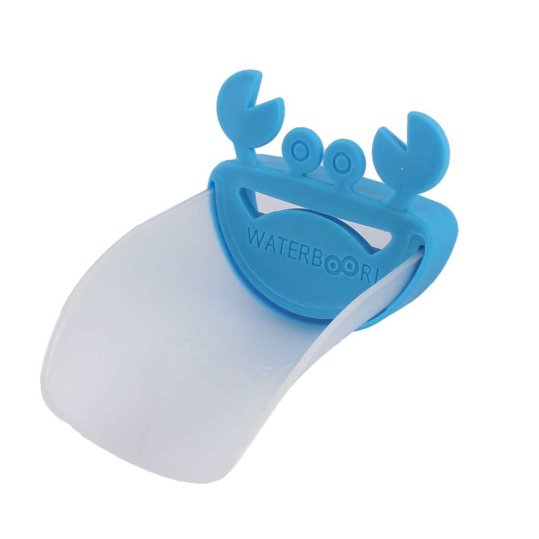 Kitchen Bathroom Silicone Crab Style Detachable Hand Washing Tap Faucet Extender