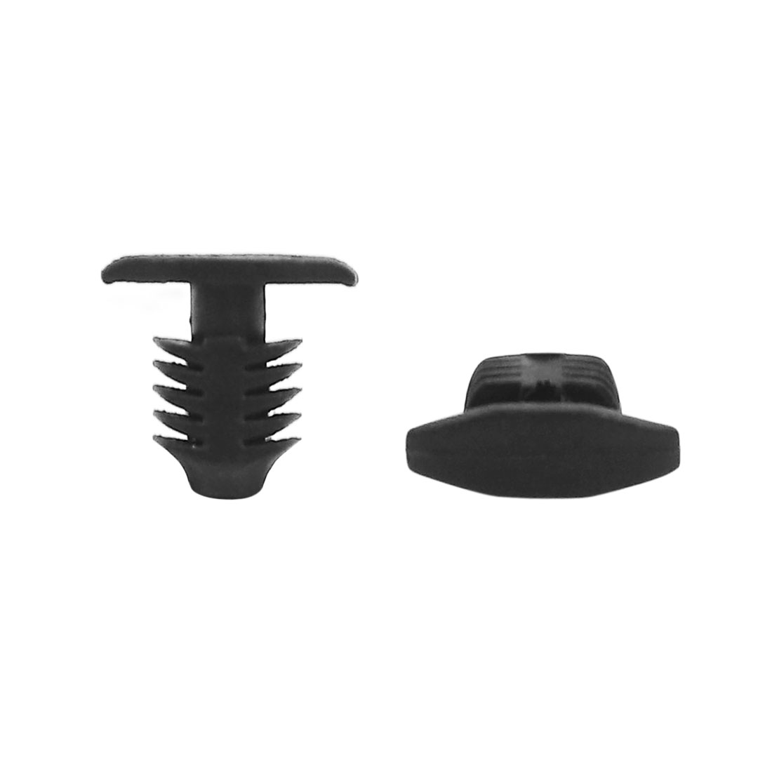 30pcs 7.5mm Hole Plastic Door Fender Bumper Push Rivets Clip for Car Vehicle
