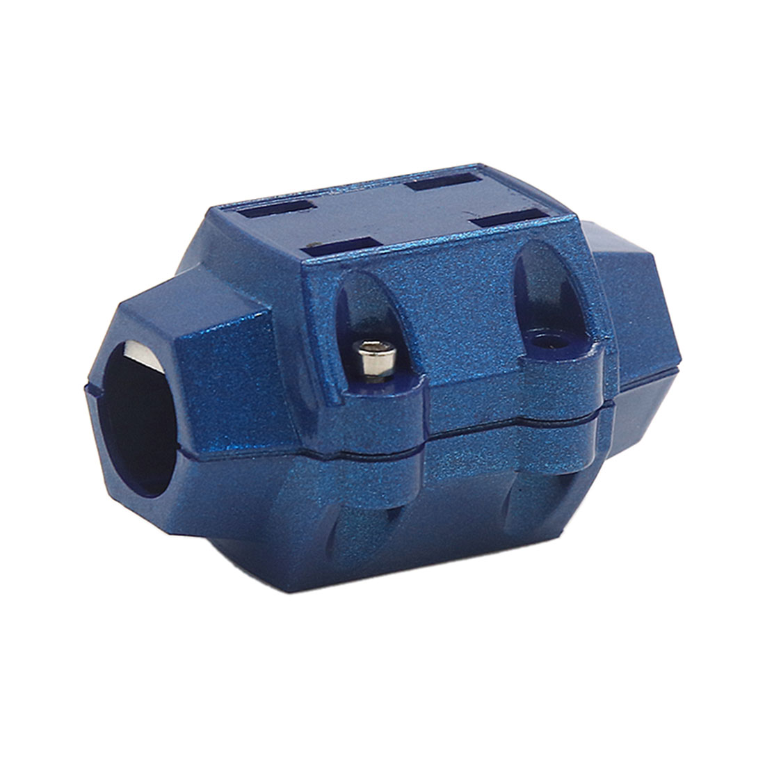 Universal Dark Blue Double Magnet Economizer Fuel Gas Saver for Trucks Cars