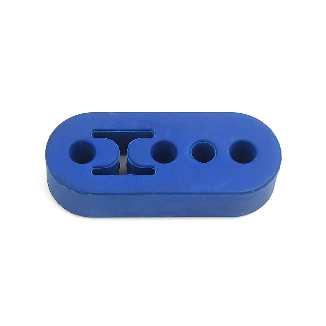 Universal 12mm Hole Blue Rubber Exhaust Tail Pipe Mount Bracket Hanger Insulator