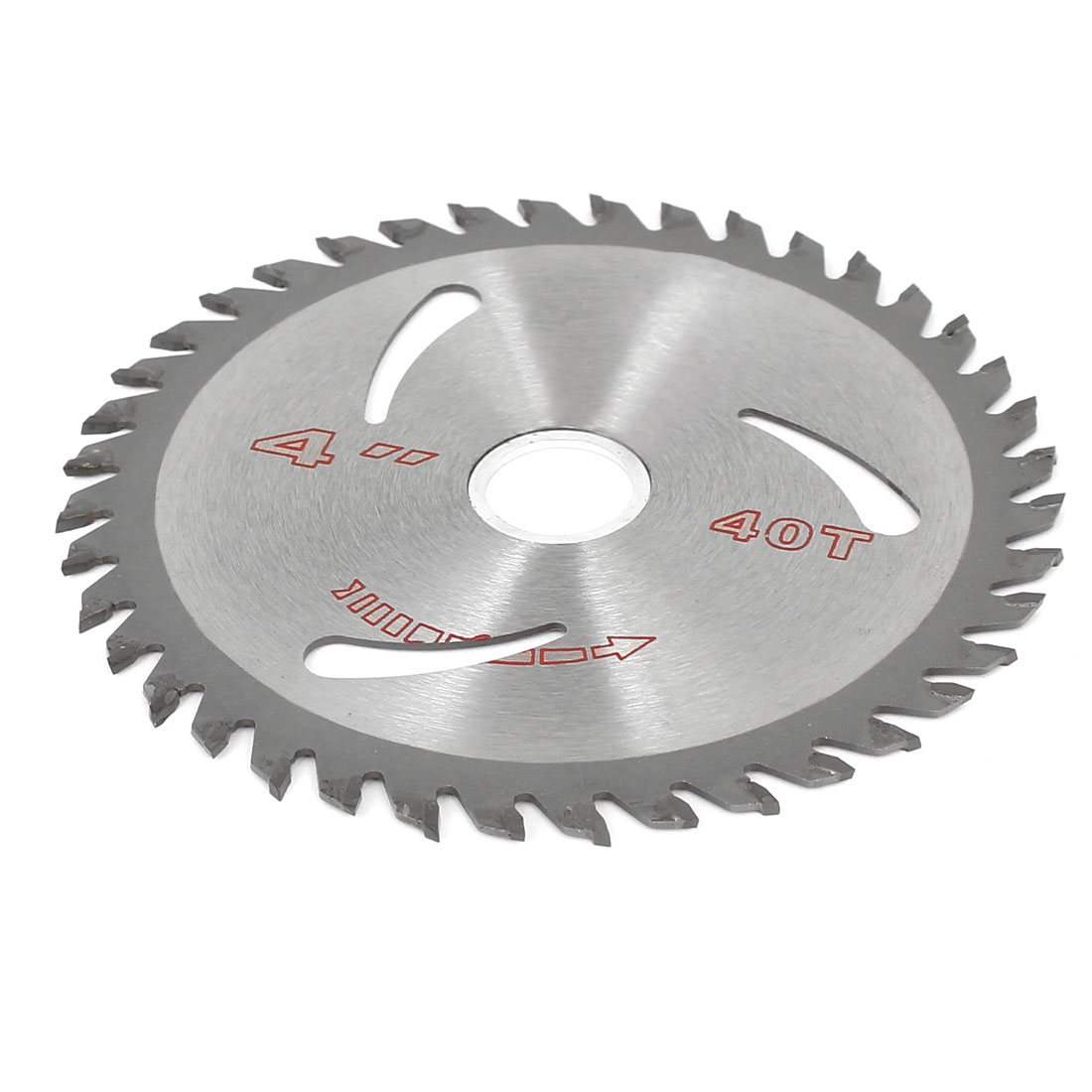 40T 1.5mm Thick Slitting Saw Cutter 110mm Silver Tone for Wood Plastic Metal