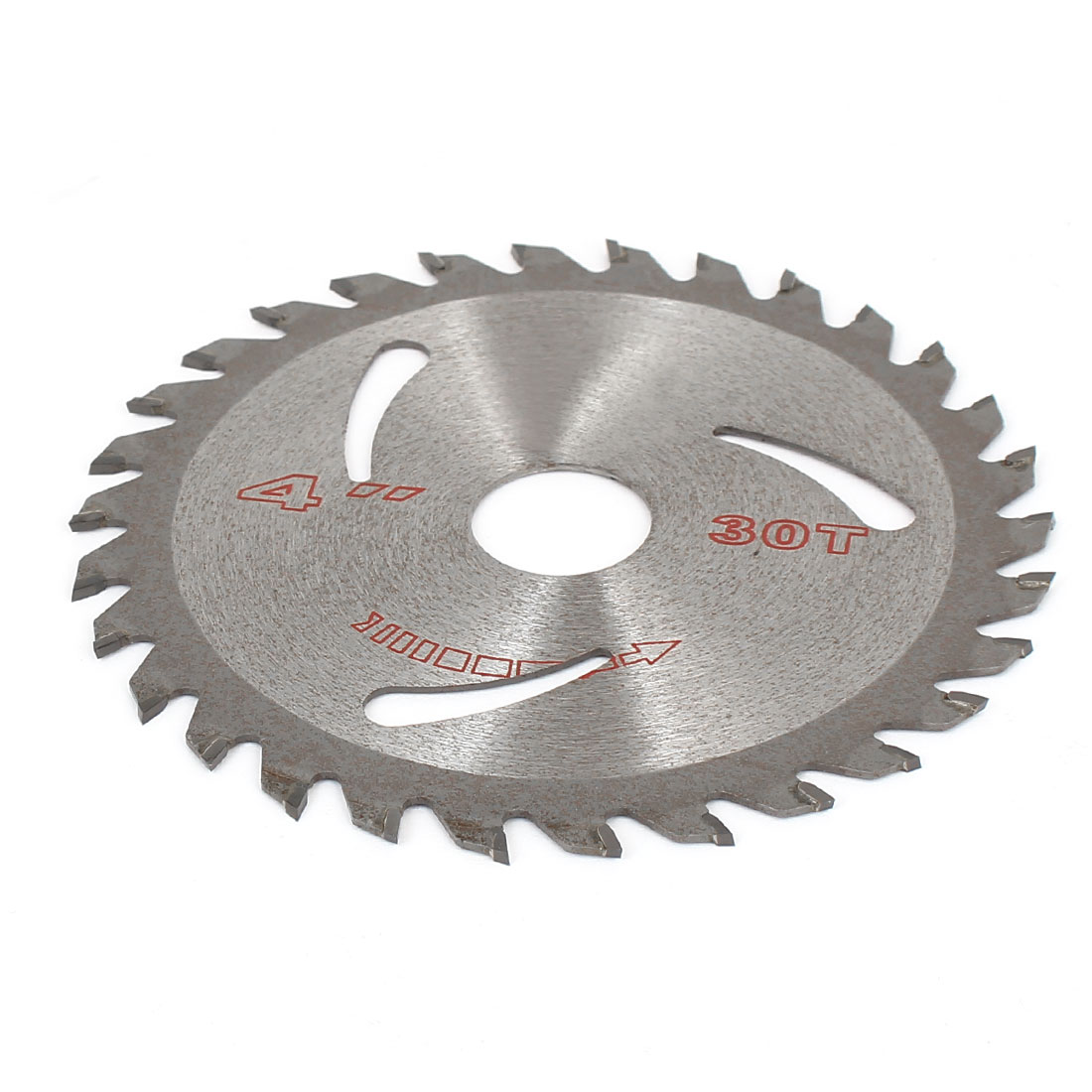 30T 1.5mm Thick Slitting Saw Cutter 110mm Silver Tone for Wood Plastic Metal