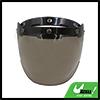 Tawny Bubble 3-Snap Motorcycle Helmet Visor Fashion Safety Shield Lens