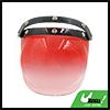 Pink Bubble 3-Snap Motorcycle Helmet Visor Flip Up Wind Face Shield Lens