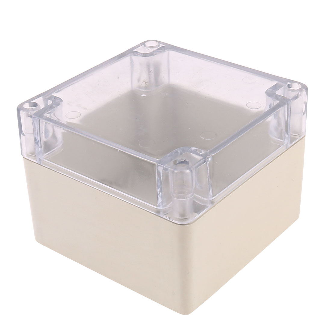 Clear Cover Dustproof IP65 Sealed Enclosure Case DIY Junction Box 120 x 120 x 90mm