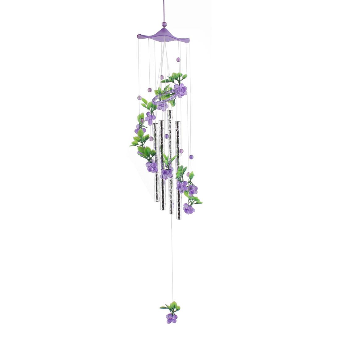 Holiday Gifts Plastic Grape Pattern Decor Beads Pendant Hanging Windbell