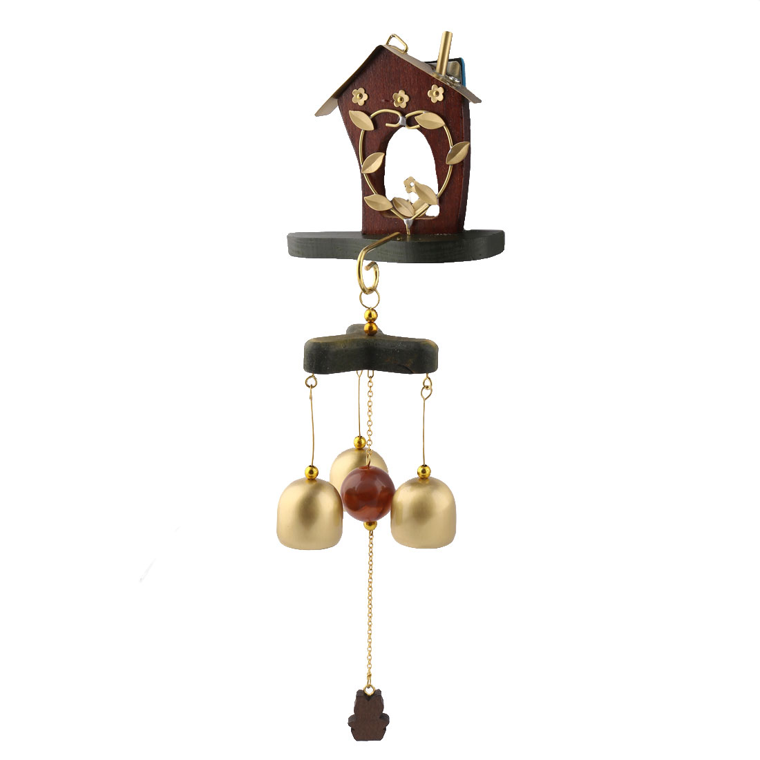 Bar Copper Birthday Gift Self Adhesive Hook Ornament Wind Bell Chime Windbell