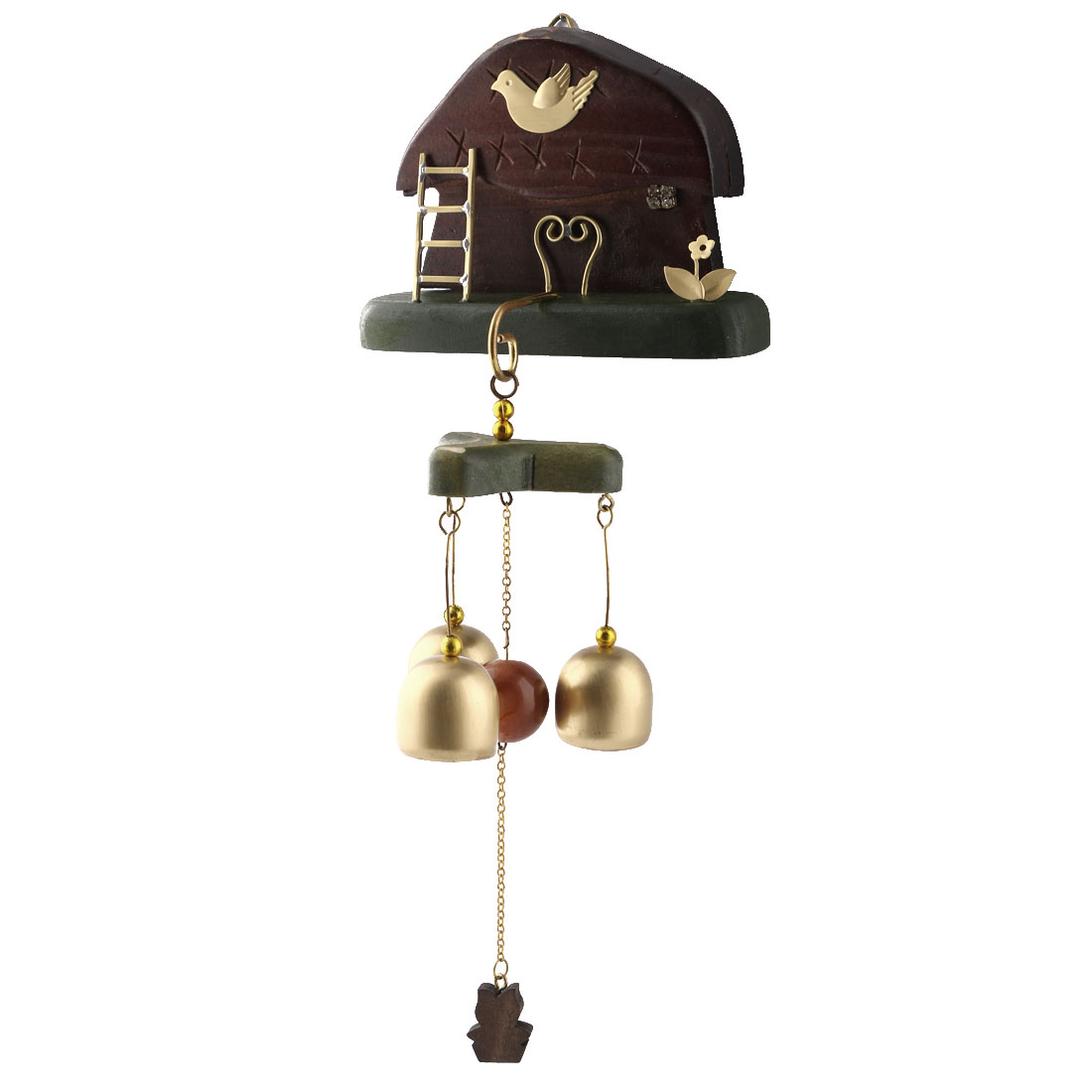 Living Room Copper Vintage Style Birthday Gift Hanging Wind Bell Chime Windbell