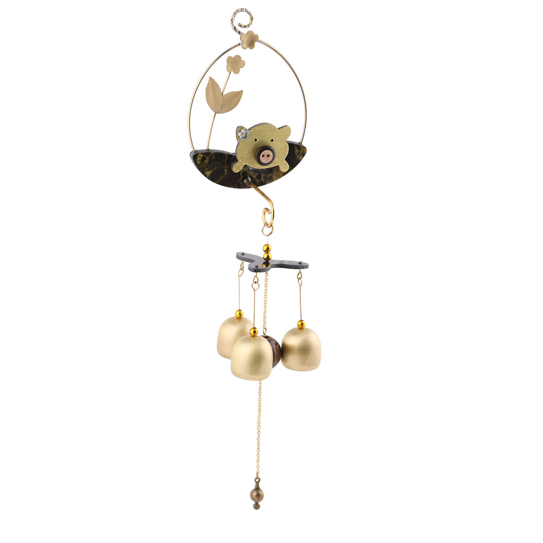 Living Room Copper Vintage Style Birthday Gift Pendant Wind Bell Chime Windbell