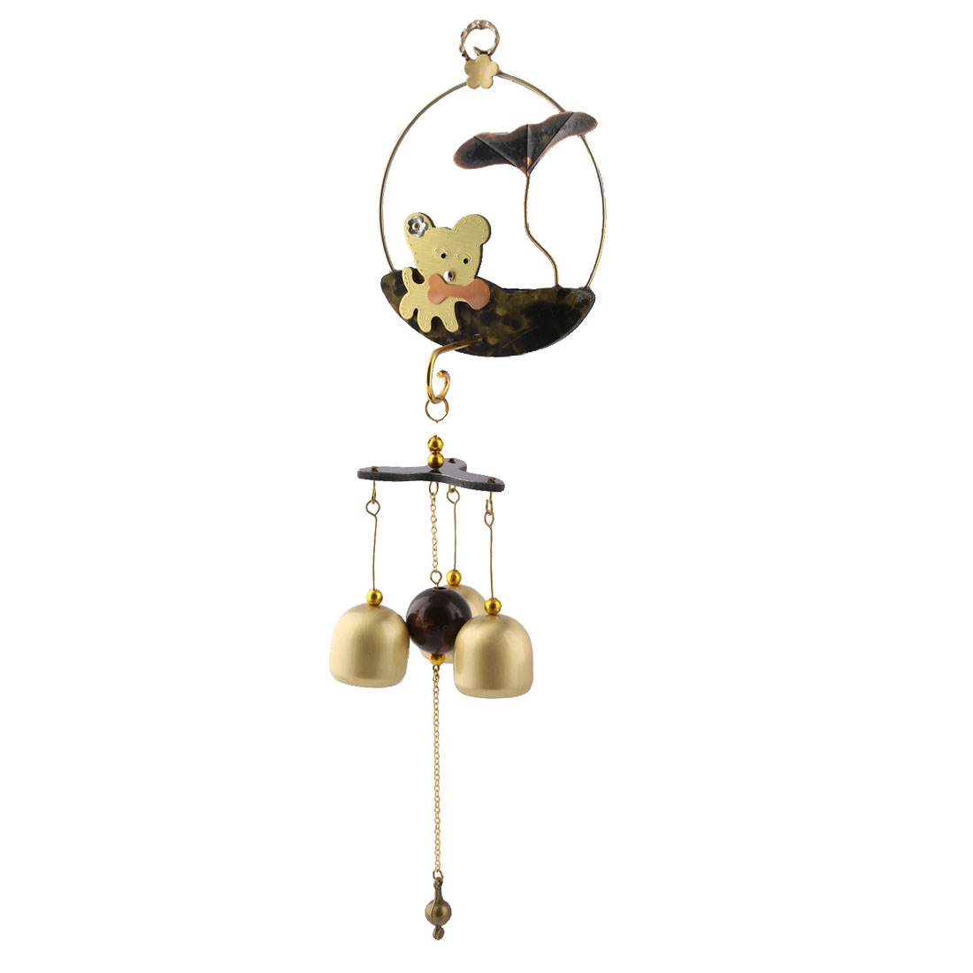 Home Copper Vintage Style Birthday Gift Hanging Decor Wind Bell Chime Windbell