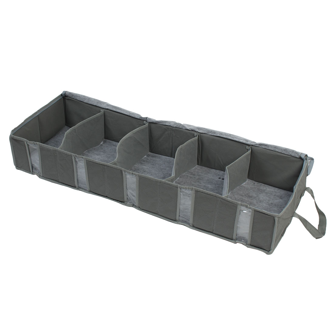 Folding Style 5 Compartment Clothing Sundry Organizer Case Storage Bag Holder Container