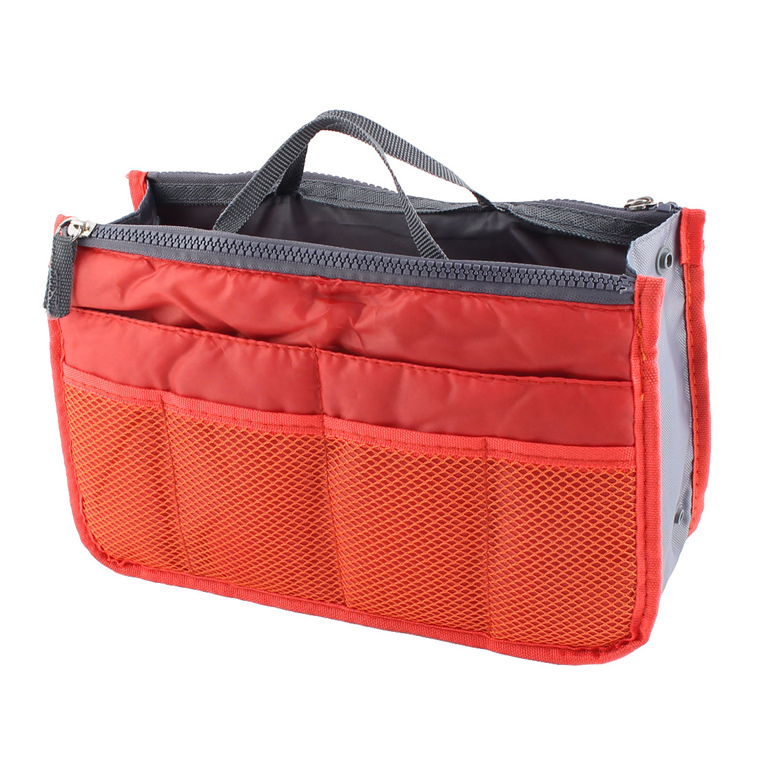 Portable Multi-functional Storage Bag Handbag Organizer Holder Container Orange