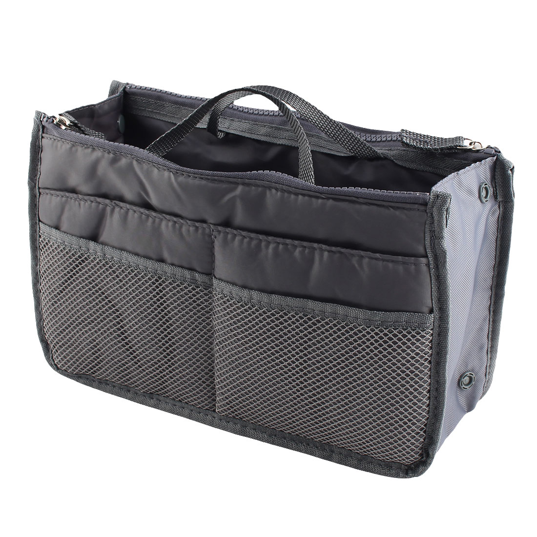 Portable Multi-functional Storage Bag Handbag Organizer Holder Container Gray