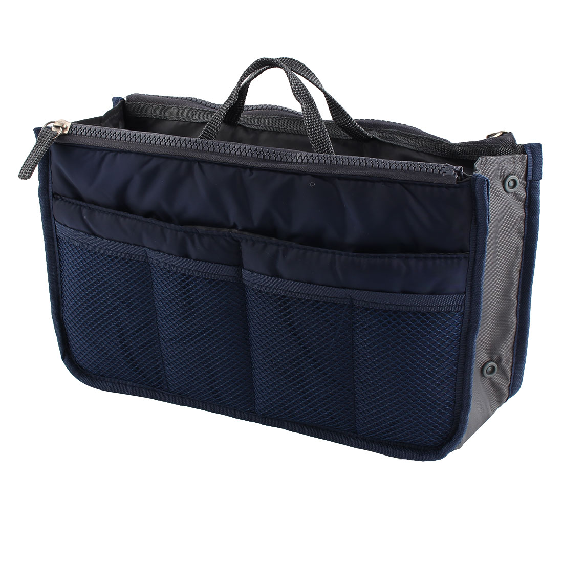 Portable Multi-functional Storage Bag Handbag Organizer Holder Container Navy Blue