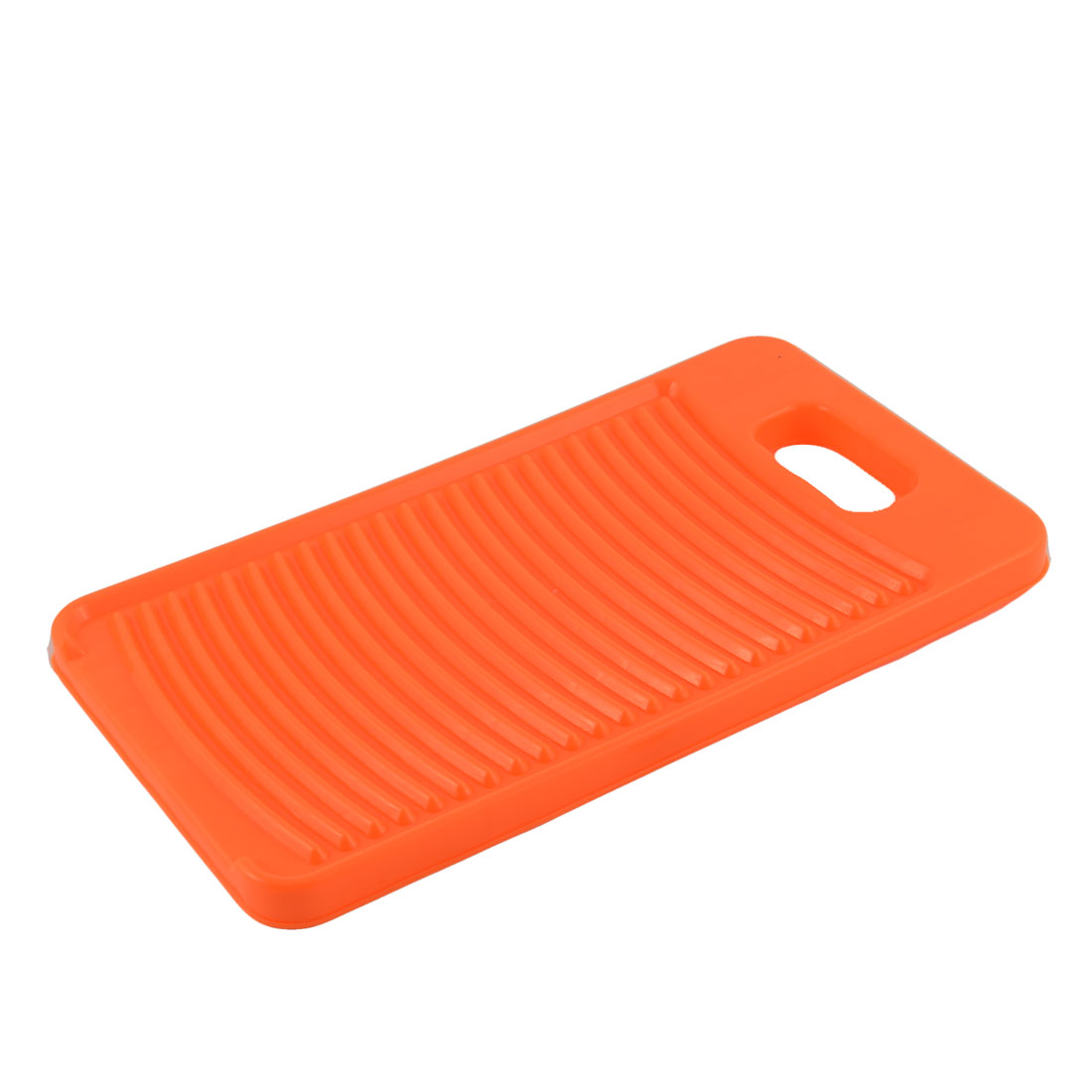 Home Laundry Plastic Thicken Rectangle Antislip Shirts Clothes Clean Washing Board Washboard Orange