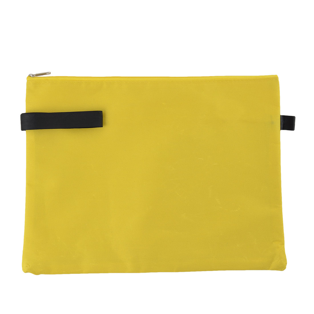 Office School Stationery Document Messenger A4 Holder Paper Pocket File Bag Yellow