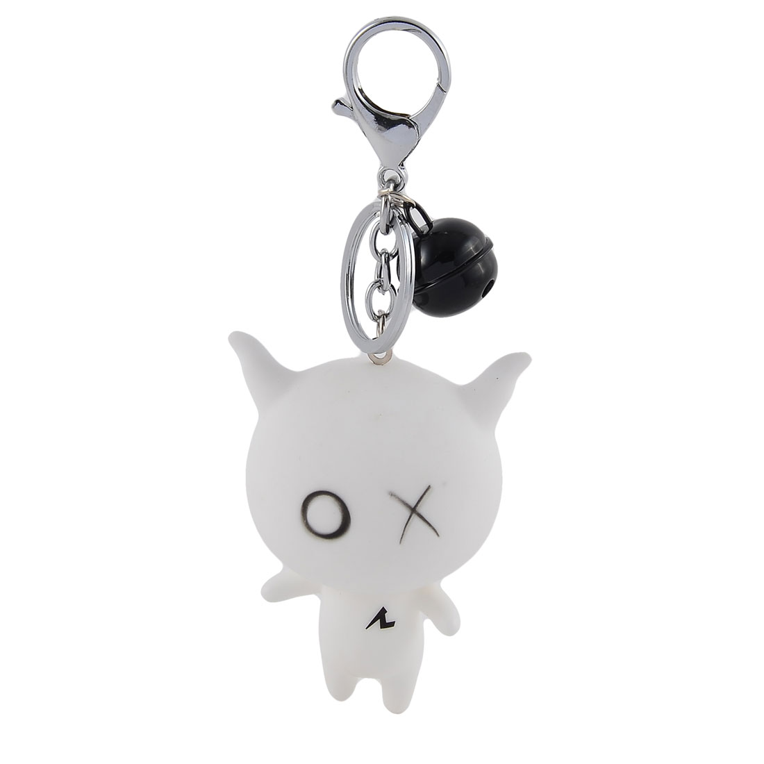 Mobile Phone Bags Rubber Pendant Decoration Keychain Key Ring Hanging Keyring