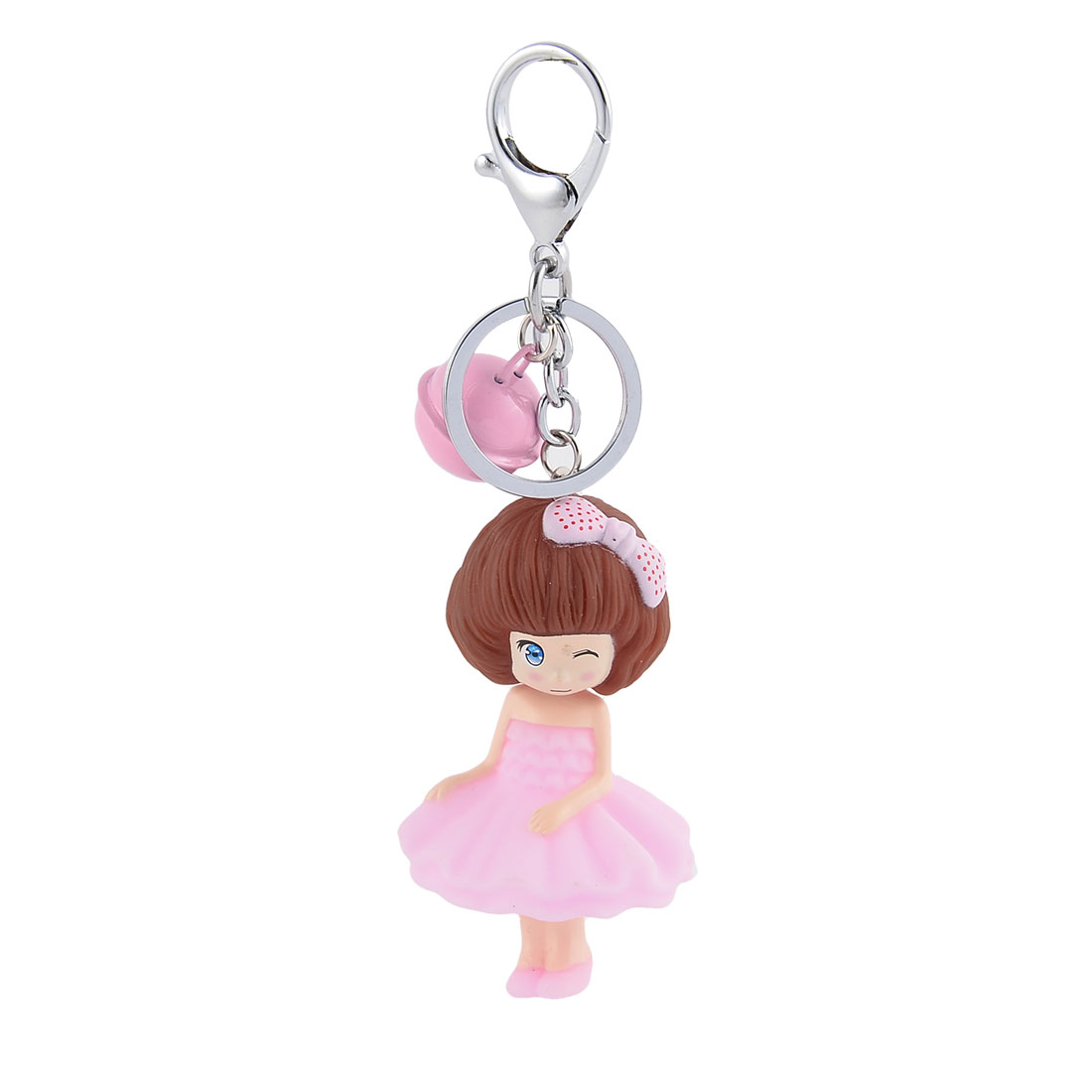 Package Bags Hanging Pendant Decoration Keychain Key Ring Holder Keyring