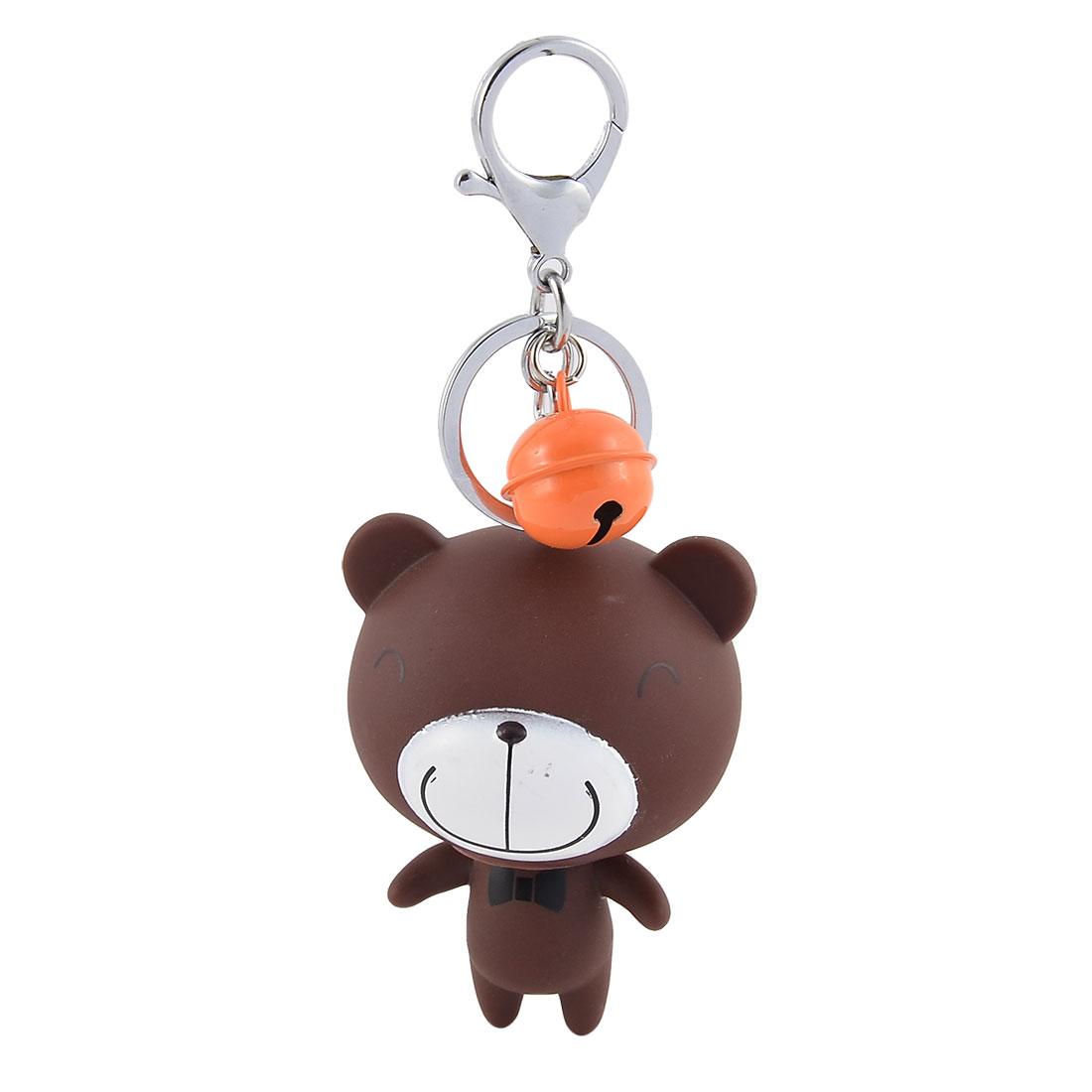 Mobile Phone Bags Bear Shaped Pendant Decoration Keychain Key Ring Keyring
