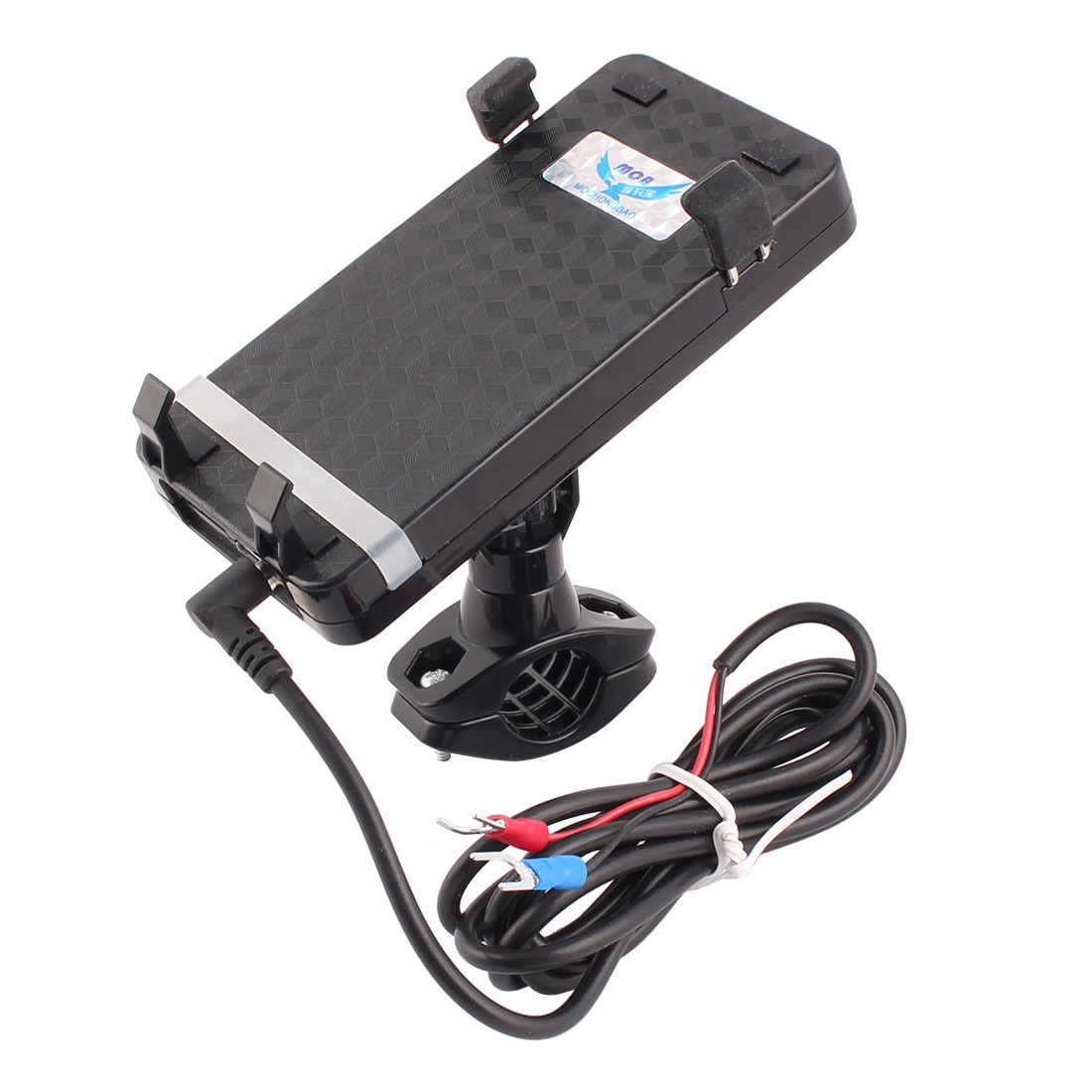 Motorcycle Scooter Universal Cell Phone GPS USB Charger Holder Mount Bracket