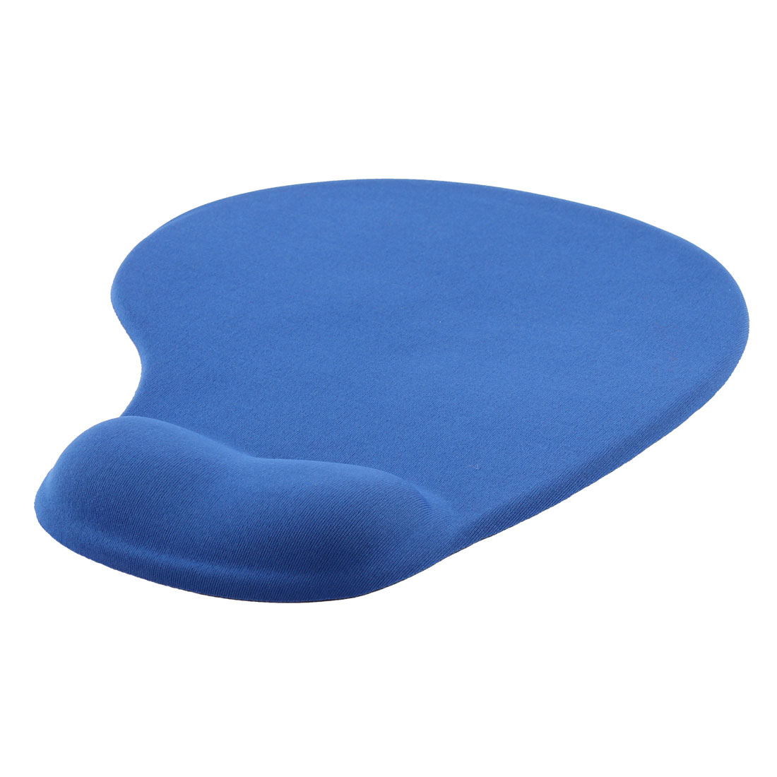 Office Notebook Gaming Silicone Surface Wrist Support Antiskid Mouse Pad Mat Blue