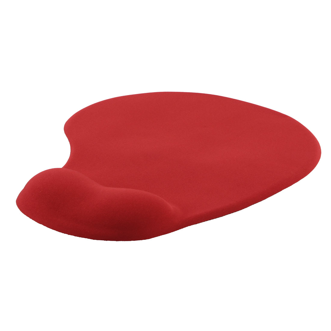 Office Notebook Gaming Silicone Surface Wrist Support Antiskid Mouse Pad Mat Red