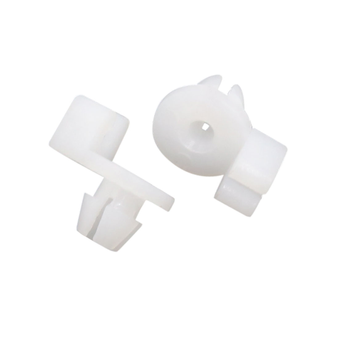 20Pcs White Plastic Rivets Interior Panel Trim Clips Retainer 7.5mm for Auto Car