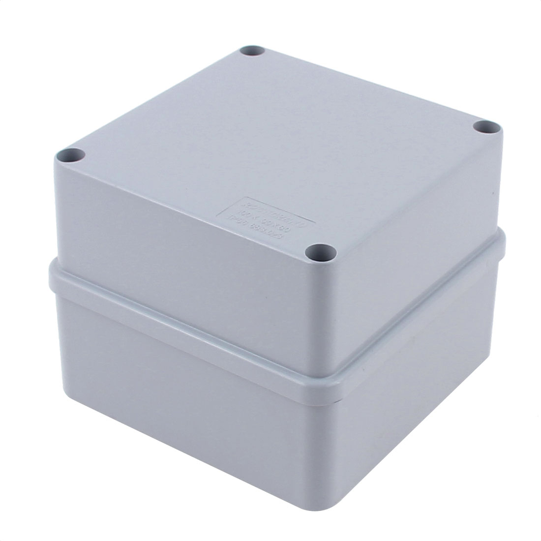100 x 100 x 80mm Dustproof IP65 Junction Box DIY Terminal Connecting Box Enclosure