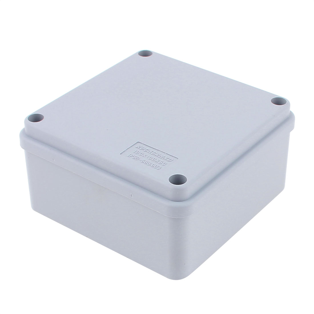 100 x 100 x 50mm Dustproof IP65 Junction Box DIY Terminal Connecting Box Enclosure