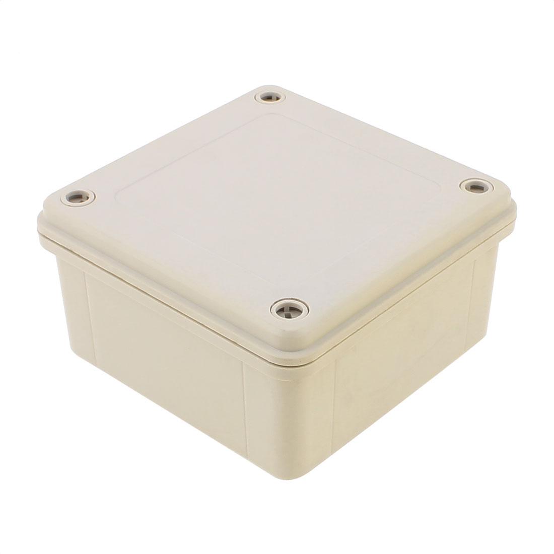 120 x 120 x 60mm Dustproof IP65 Junction Box DIY Terminal Connecting Box Enclosure