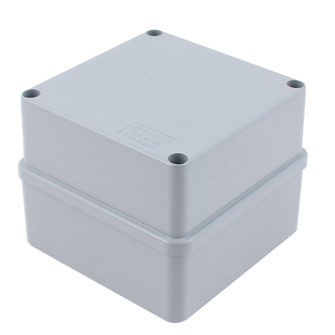 100 x 100 x 80mm Dustproof IP65 Junction Box DIY Sealed Connecting Box Enclosure