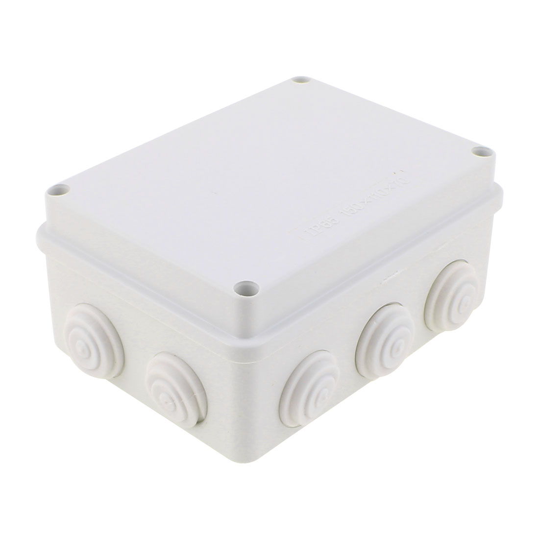 150 x 110 x 70mm Dustproof IP66 Junction Box DIY Sealed Terminal Box Enclosure